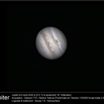 Jupiter 6 aout 2020 t7c powermatex4 130pds texte
